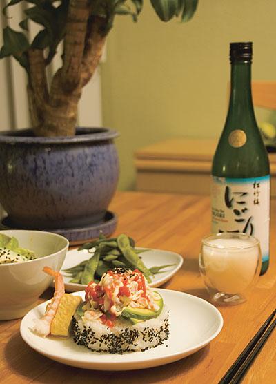 Dinner, Japanese style