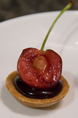 Cherry Tartlet